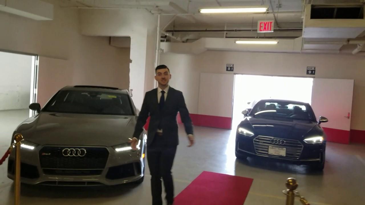 Audi Manhattan Sport Showroom Dillon Sherrod YouTube - Audi of manhattan