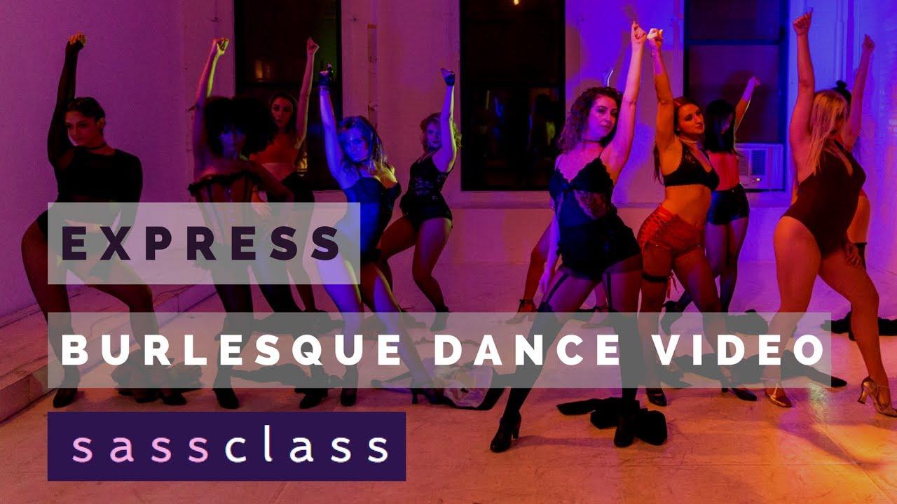 [EXPRESS - Christina Aguilera] Burlesque Dance Choreography