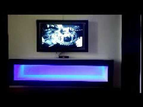 meuble tv en placoplatre ammateur youtube. Black Bedroom Furniture Sets. Home Design Ideas