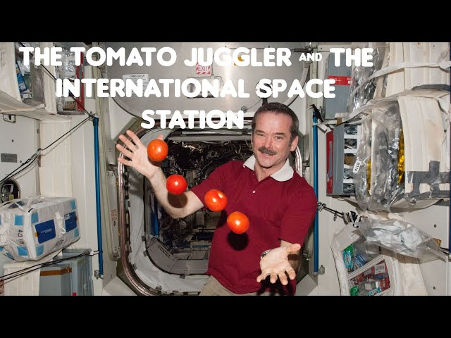 Flat Earth: The tomato juggler & the international space station