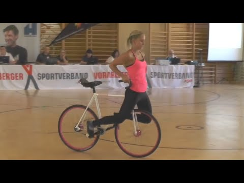 Incredible Artistic Cycling Tricks! | People are Awesome