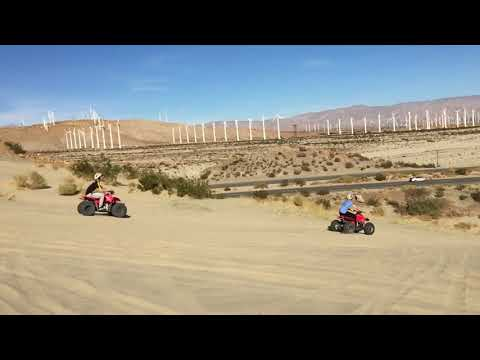 atv riding outside of palm springs