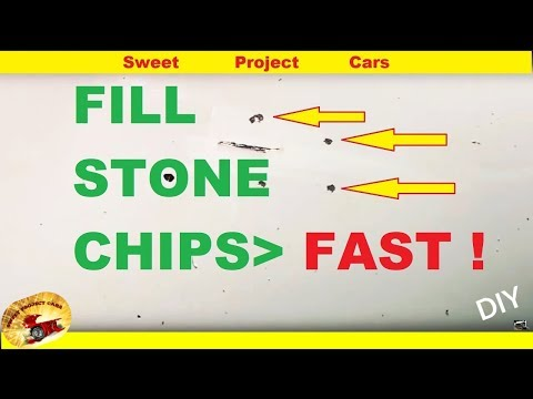 AMAZING Way To Fill STONE CHIPS & Small Scratches !