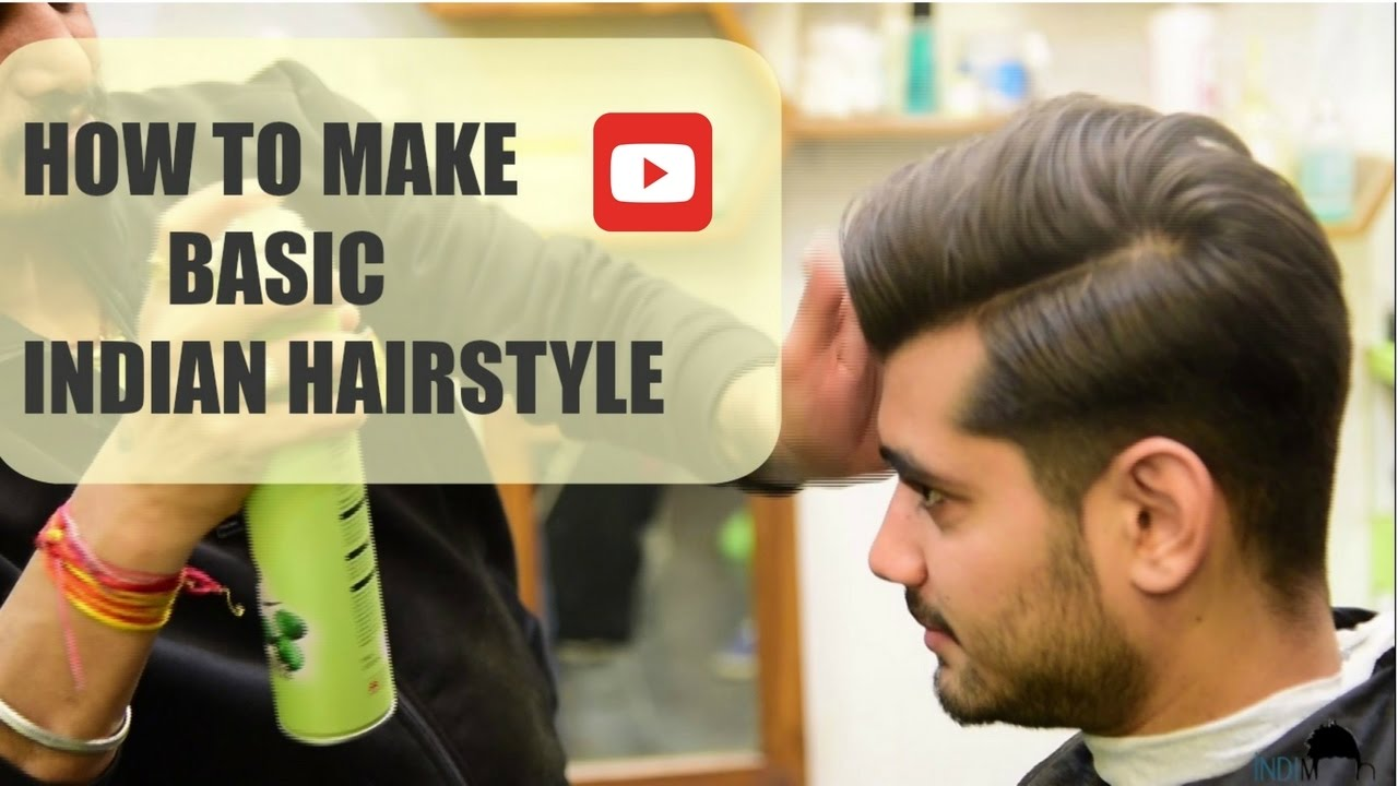 Hair Style Youtube In Hindi: Hairstyles For Men * Men Hairstyle * Indian Hairstyle