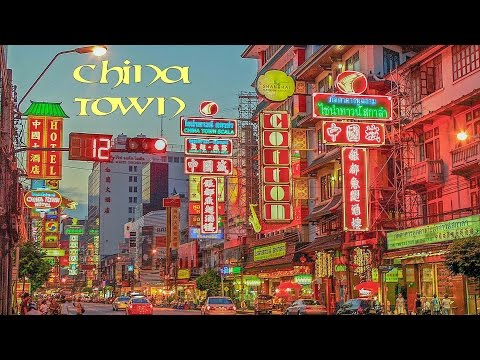 How to go to Bangkok Chinatown by Walk from MRT Hau Lamphong Station in 15 minutes (チャイナタウンバンコク)