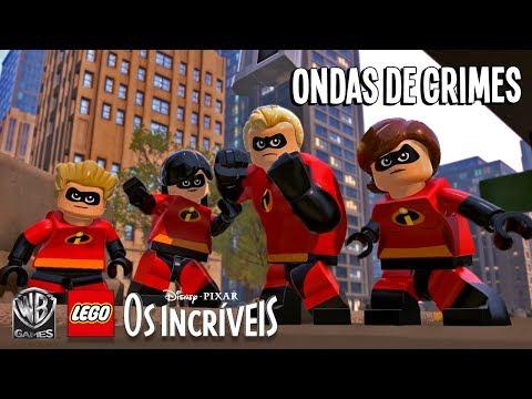 LEGO Disney•Pixar Os Incríveis – Ondas de Crimes (Trailer)