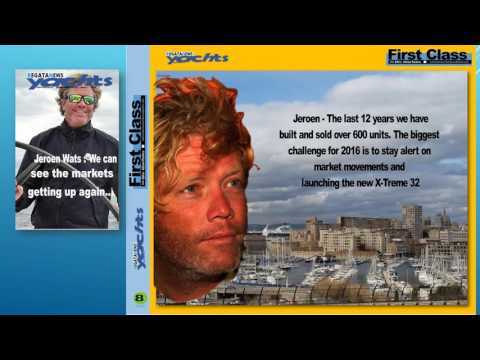 Regata News TV First Line program - Adilson Pacheco interview CEO of G-Force Yachts, Jeroen Wats
