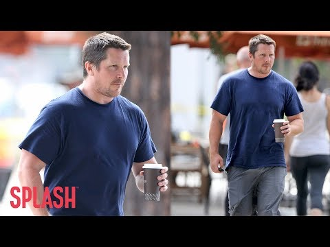 Christian Bale Packs on the Pounds to Play Dick Cheney | Splash News TV