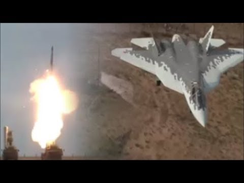 Russian Missiles S-400 Is Being Tested By Stealth Fighters Sukhoi Su-57.