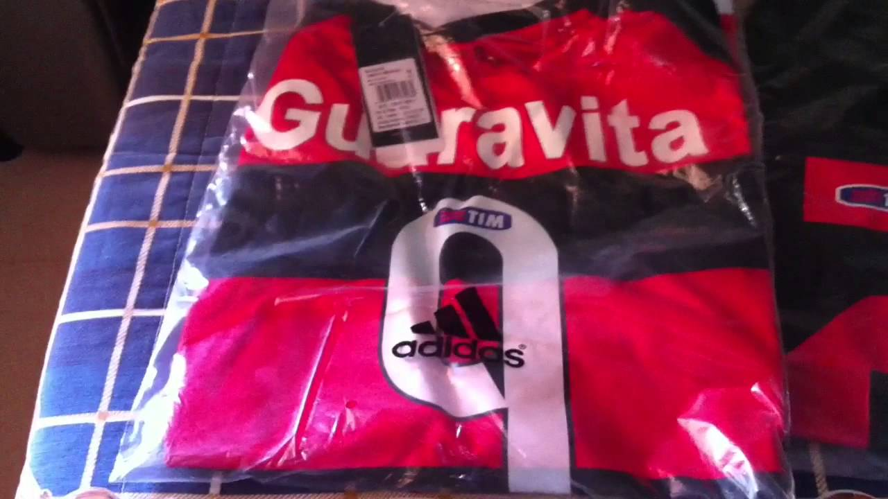 84059098679bb Unboxing 2 camisas do Flamengo 2016 17 - Compra Aliexpress - YouTube
