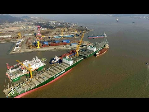 China's ship building industry: A long and painful road toward recovery