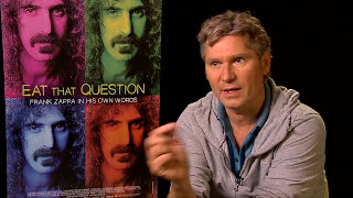 Director Thorsten Schutte on making NEW Frank Zappa Doc EAT THAT QUESTION