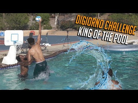 2HYPE KING OF THE COURT POOL MINI BASKETBALL!