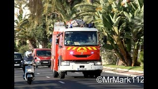 Sapeurs Pompiers, SAMU et Police SDIS 06 Nice | French Emergency services responding in Nice