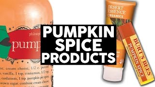 12 Pumpkin Spice Latte Beauty Products We're Obsessed With (LISTED)