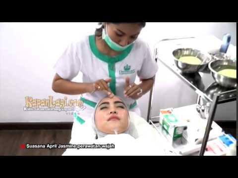 April Jasmine Lakukan Perawatan Wajah Ala Korea di Dermaster Clinic - AQUAPEEL