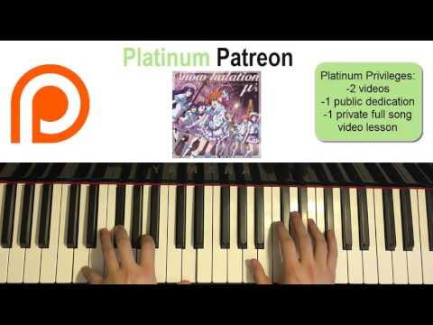 μ's - Snow Halation - Love Live! OST  (Piano Cover) | Patreon Dedication #67