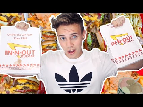 AUSTRALIAN TRIES IN-N-OUT FOR THE FIRST TIME