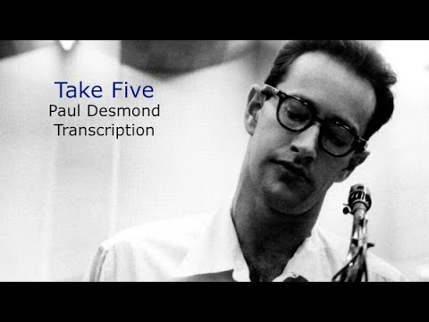 Take Five/Dave Brubeck. Paul Desmond's (Eb) Solo. Transcribed by Carles Margarit
