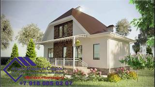 Продажа дома в Анапе 136 м2 от застройщика по интересной цене.
