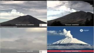 Popocatepetl - 20151218 - 04:55 A 11:59 Hrs