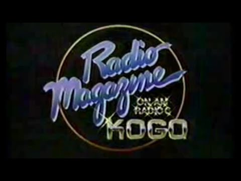 "1982 KOGO AM 600 ""Radio Magazine"" San Diego TV Commercial"