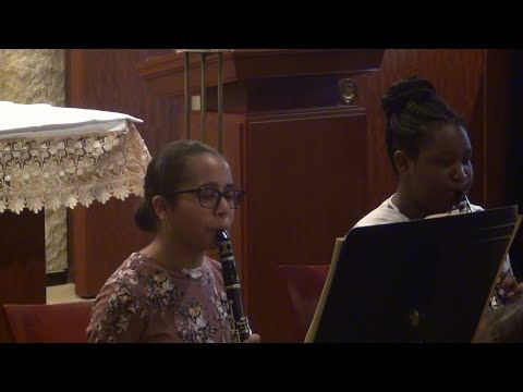 Maces Lane Middle School Clarinets at Best of Maryland Arts Education Festival 2018