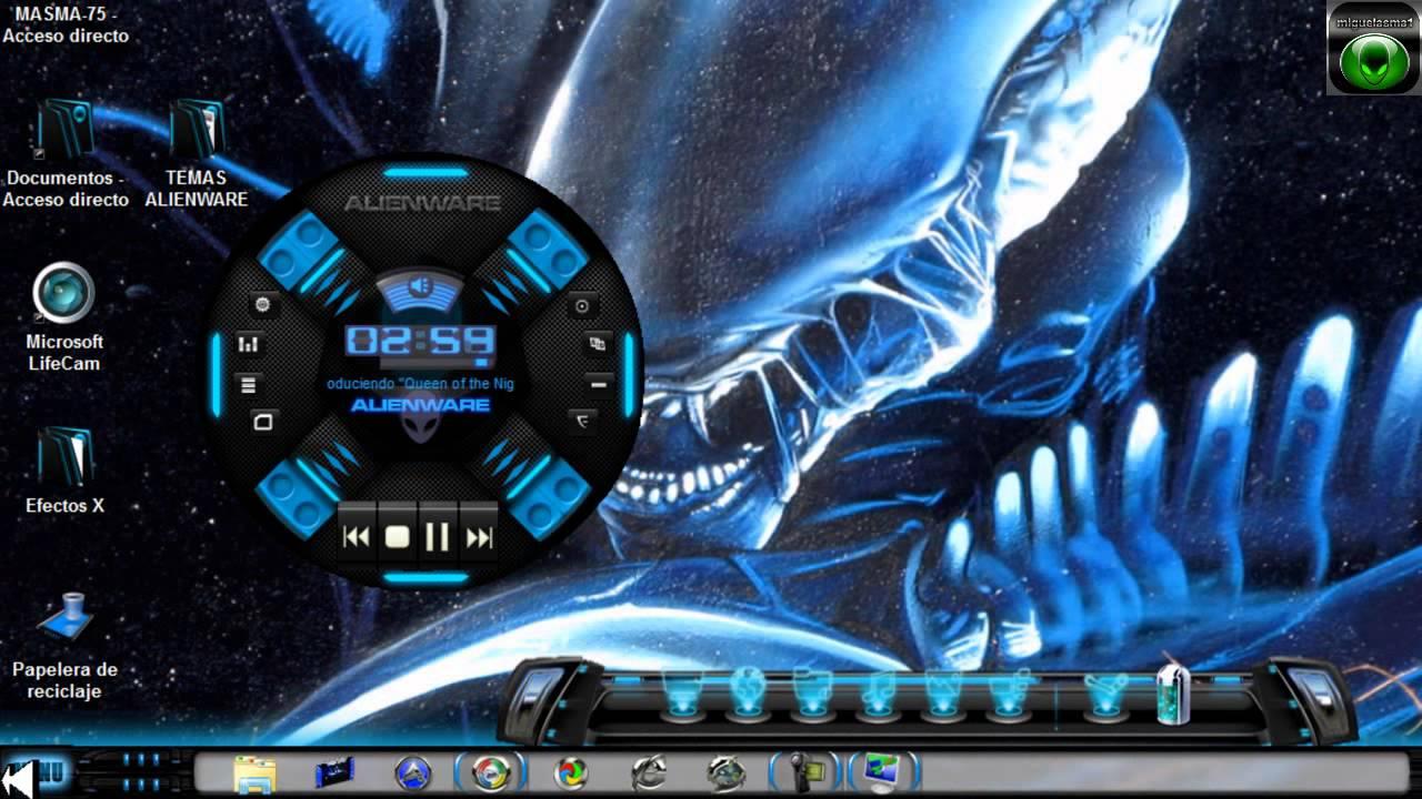 Alienware Hd Wallpapers For Desktop Descargar 3 Temas Windows 7 Alienware Inspire Con