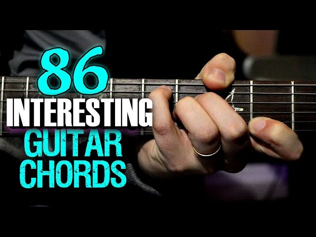 86 Interesting Guitar Chords - Guitar World