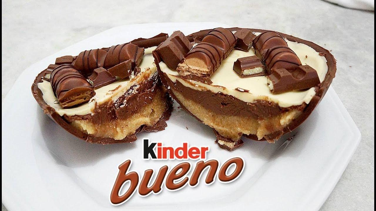 Favoritos Ovo de Páscoa Recheado com Kinder Bueno - YouTube JL86