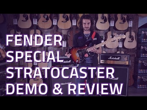 Fender American Special HSS Stratocaster Demo & Review