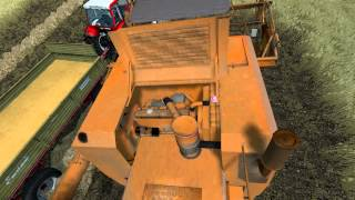 The Alps: Farming simulator 2013 - Harvesting in the valley