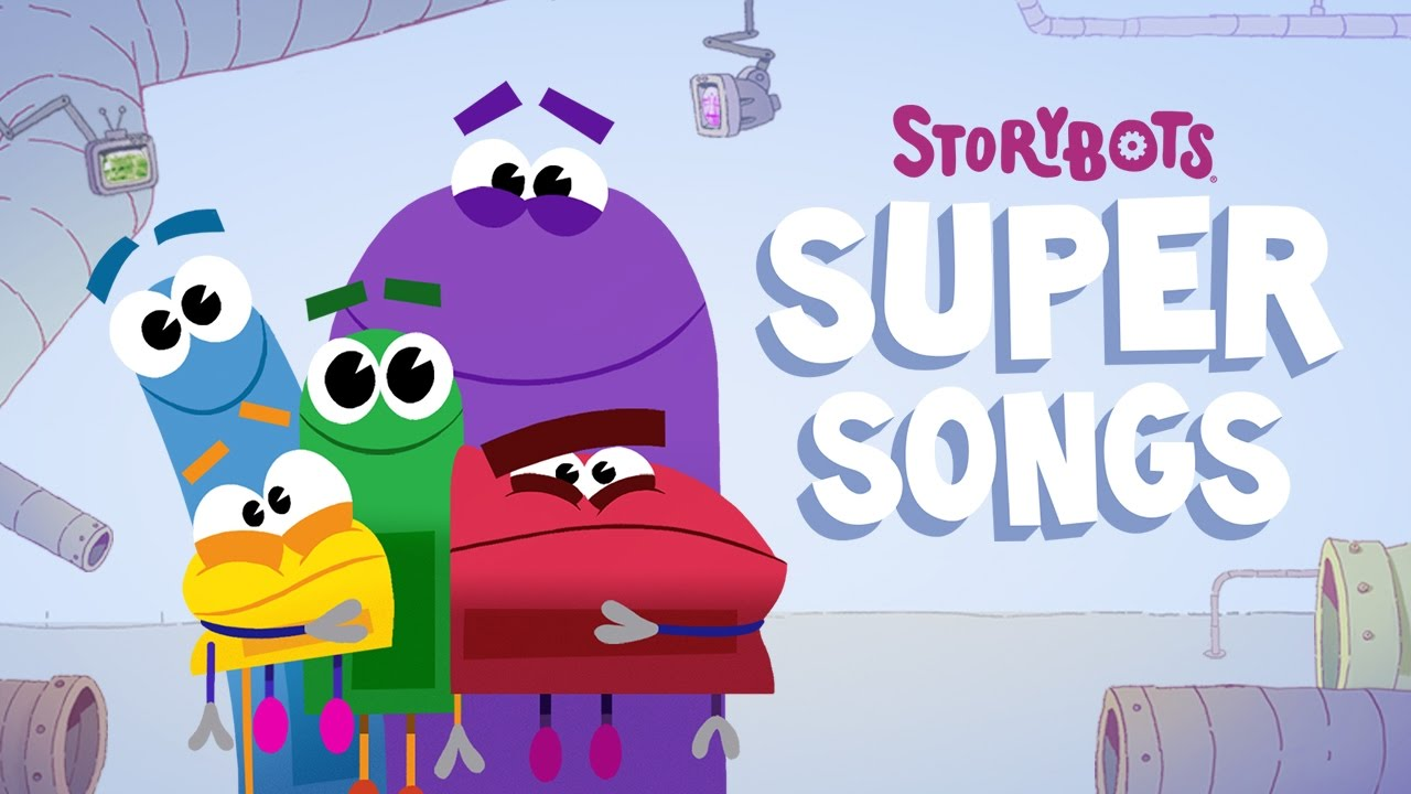 storybots super songs on netflix official tv show trailer youtube