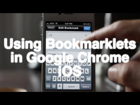 How To Easily Create And Use Bookmarklets In Chrome IOS