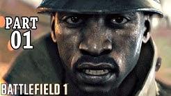 Battlefield 1 Singleplayer Gameplay German Part 1 - Let's Play Battlefield 1 Deutsch