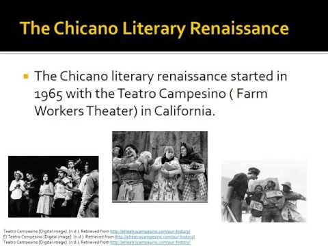 The History of Chicano Literature