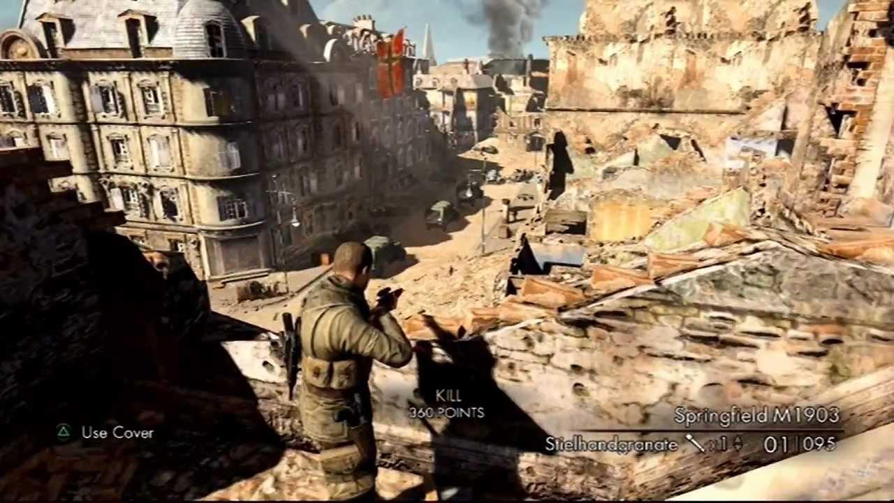 Sniper Elite V2 Playstation 3 Comentado Pt Br Youtube