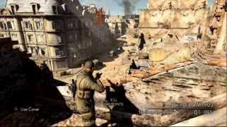 Sniper Elite V2 Playstation 3 - comentado (PT-BR)
