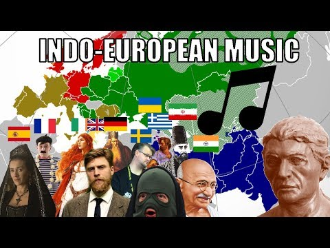 The Sound Of Indo-European Music (Compilation)