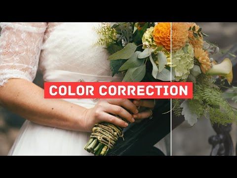 Cinematic Color Grading for Wedding Films with Color Finale