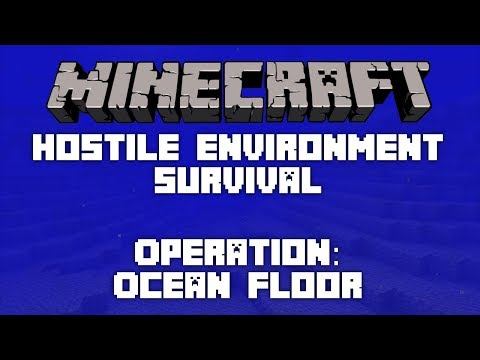 Hostile Environment Survival: Ocean Floor | E07 | Biggest Room Yet