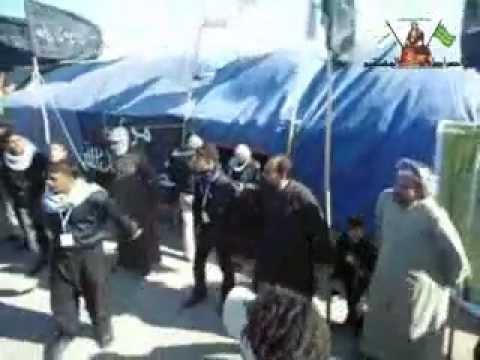 في البصرة أنصار المهدي في ذكرى إستشهاد الرسول محمد (ص)