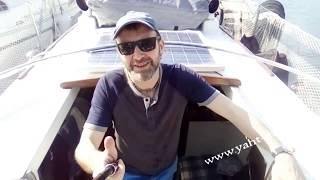 Обучение яхтингу в Анапе - прегон яхты Eagle - эпизод 1