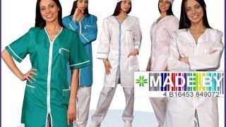 Производство медицинских халатов. MADE.BY(Модные тенденции повлияли и на этот атрибут одежды. Современный медицинский халат - это удобная и красивая..., 2016-01-27T12:30:32.000Z)