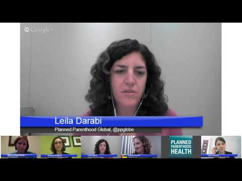 Global Female Condom Day Hangout On Air