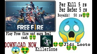 Play free fire and earn money