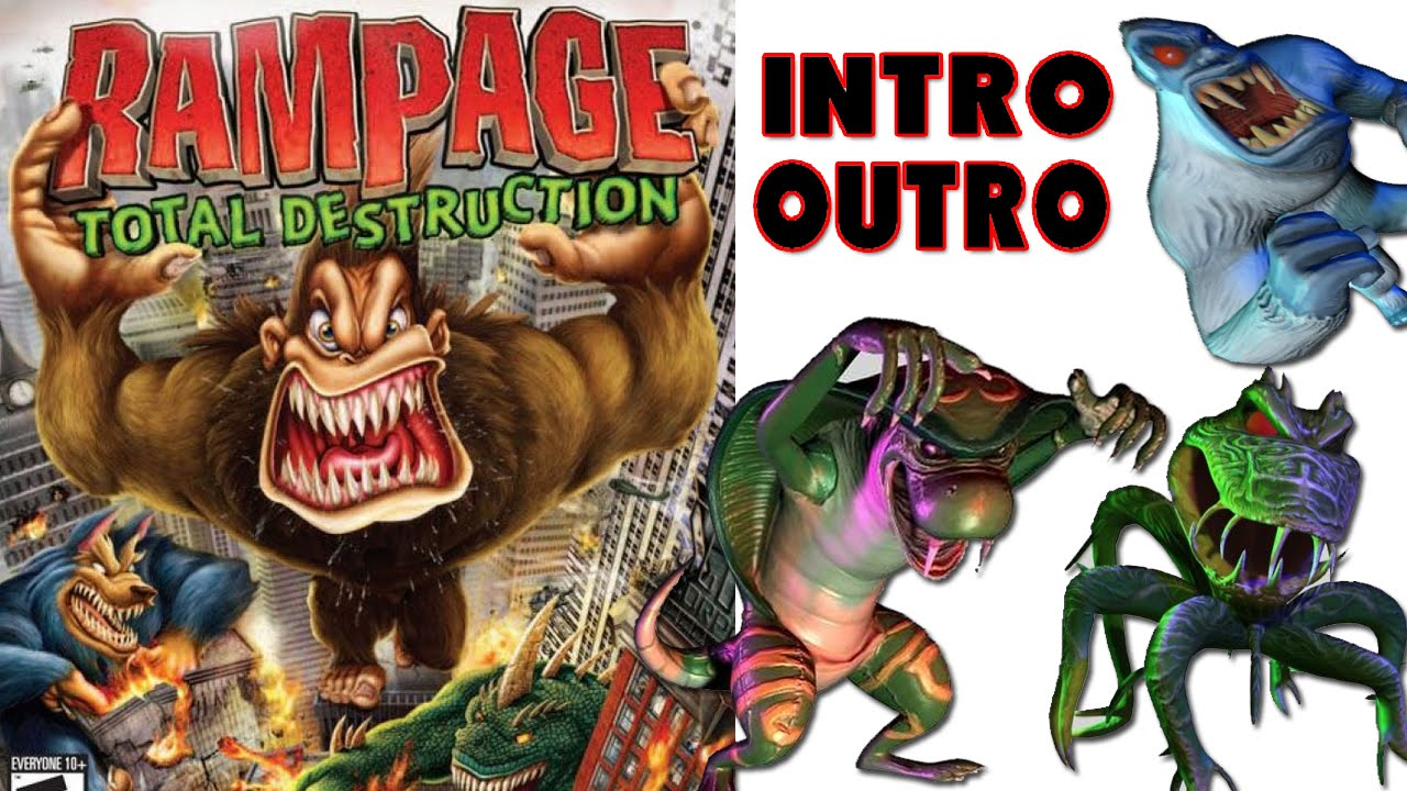 Rampage Total Destruction Intro Outro Hd Youtube