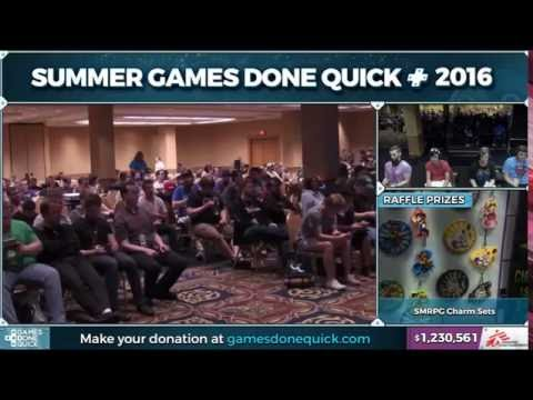 SGDQ 2016 benefitting Doctors Without Borders - Super Mario RPG: Legend of the Seven Stars