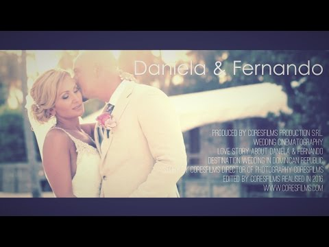 Jellyfish Restaurant Punta Cana Wedding {Daniela + Fernando} Feature Film