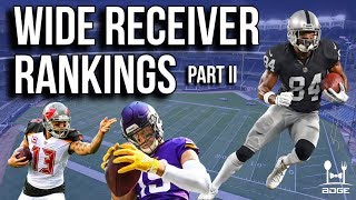2019 Fantasy Football Wide Receiver Rankings | Part II